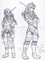 Winter Gear Concepts - Jak and Sake by DarkEcoKat