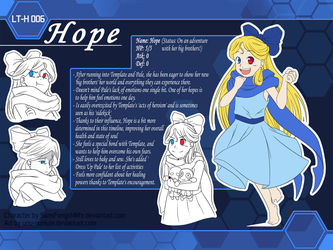 TrioTale Hope ref by SansFangirl4life