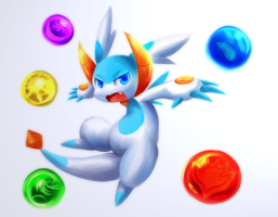 Syrup - Puzzle and Dragons Z by Nurinaki