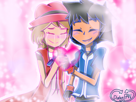 Amourshipping by xDialgaFANx