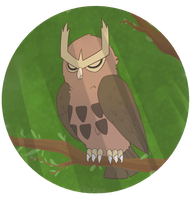 Pokemon Drawing Challenge - Day 1: Noctowl