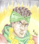 Avdol colored pencil portrait by mayorlight
