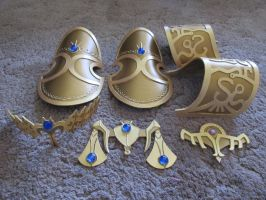 Zelda Armor Pieces by FanatikerFrau