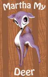 Martha My Deer by thelemonpiper
