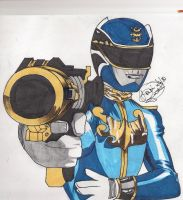 Gosei Blue by DynamicSavior