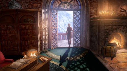 Dragon Age Inquisitor's Chamber by Refielle
