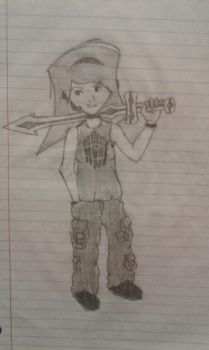 My sword is ALSO a harpoon. by ChilidogPlaza