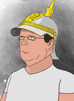 Hank Hill Unites the Texan People by HankPropaniac57