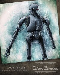 Sassy Droid (K-2S0) by Donny-B