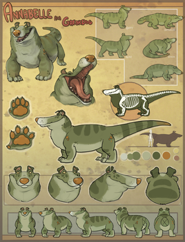 Gatordog Character Sheet by colonel-strawberry
