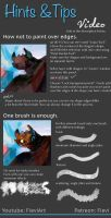 Toothless tutorial by Fievy