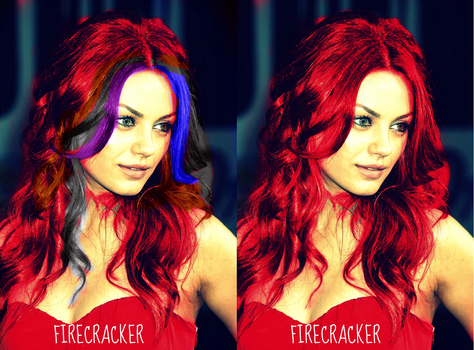 Mila Kunis is Firecracker by summerlvralwys