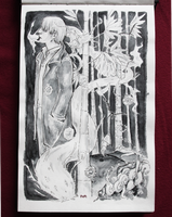Mushishi - Sketchbook doodle by iva-draws