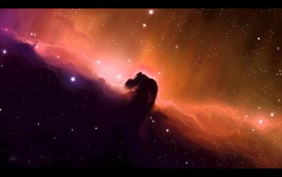 The Horsehead Nebula by TylerCreatesWorlds