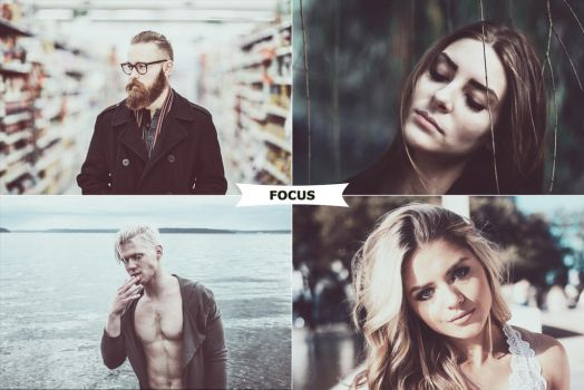 Focus Photoshop Action by ViktorGjokaj