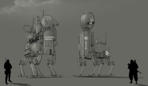 Emitter and receiver Bot by vicky3