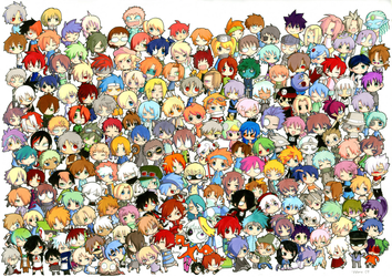 THAT'S A LOT OF CHARACTERS by Valerei