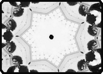 Micky Dolenz, through a kaleidoscope by iwildaydreambeliever