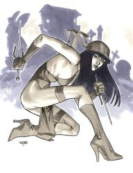 Elektra - NYCC 2012 Pre-Show Commission by MahmudAsrar