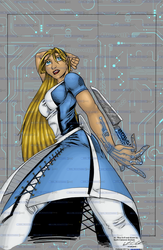 AI Alice by Garth C Graham - Colored by RBL-M1A2Tanker
