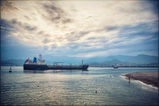 Harbour Traffic by m-snark