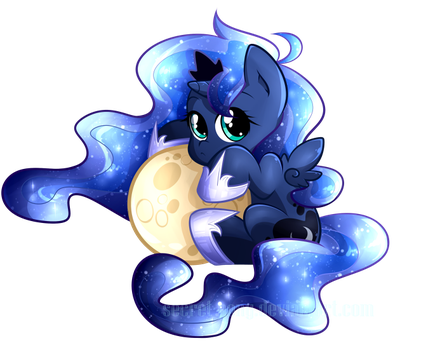 Chibi Luna by secret-pony