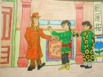 Chang Meets Agent Renaud (Origins - Tintin) by BardofMaple