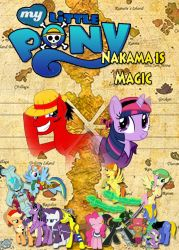 One Piece meets MLP - Nakama is Magic - Poster by Moheart7