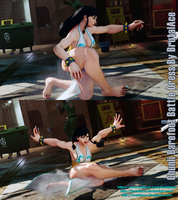 Chunli Barefoot Battle Dress by BrutalAce
