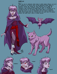Character sheet: Sibella by RobD2003