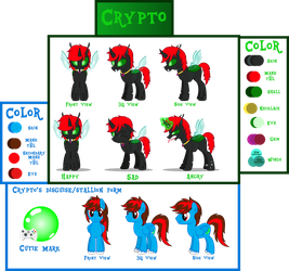 Crypto's Reference sheet updated  by CryptotheChangeling1