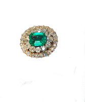 Emerald Ring by MLeighS
