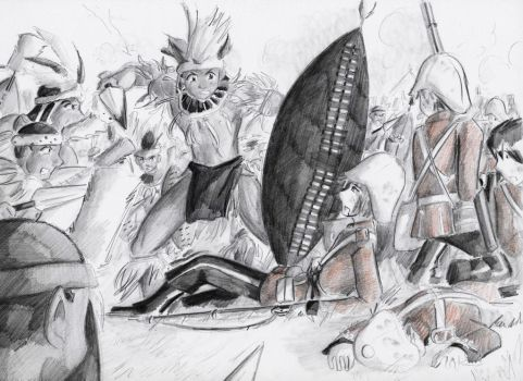The Battle of Isandlwana_Overwhelmed by LordCavendish