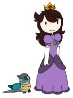 Aritroopa and Princess Jaiden by Finnjr63