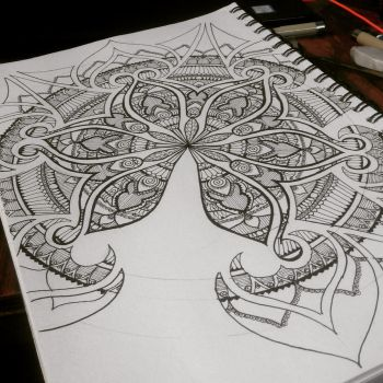 Mandala art by Vidusha
