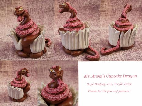Cupcake Dragon by CageyJay