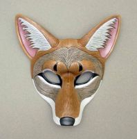 Coyote Leather Mask by merimask