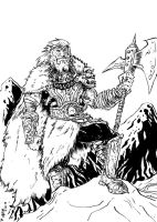 viking character by chachaman