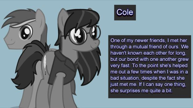 Confidant: Cole by Keeneye47