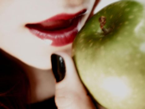 .:With An Apple:. by Ebbita