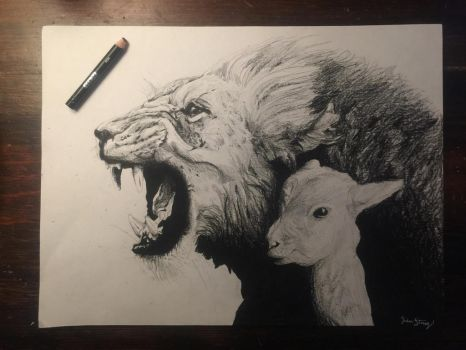 Lion and the Lamb by Amazonians