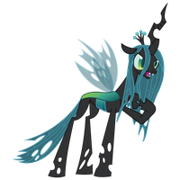 Queen Chrysalis by birthofthepheonix