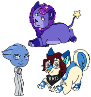 Chibi Batch [Com] by RoyalBlackheart