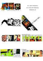 Filmstrip make-your-own book by pocketm0use
