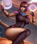 Menat by Flowerxl