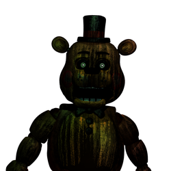 FNAF - Phantom Toy Freddy(v2)+ Video by Christian2099