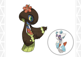 Alolan Form Froslass by ConnorGotchi
