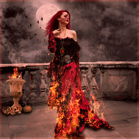 Lady of fire by SaRaH-SiSi