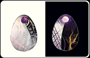 [CLOSED] YIN / YANG Mystery Eggs {AUCTION} by marilatte