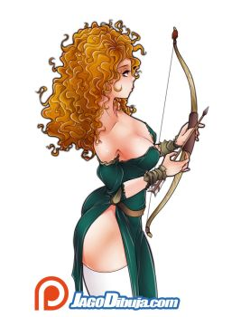 Merida by JagoDibuja